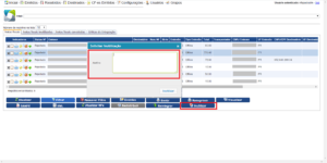 PDV - Inutilizar - Monitor motivo