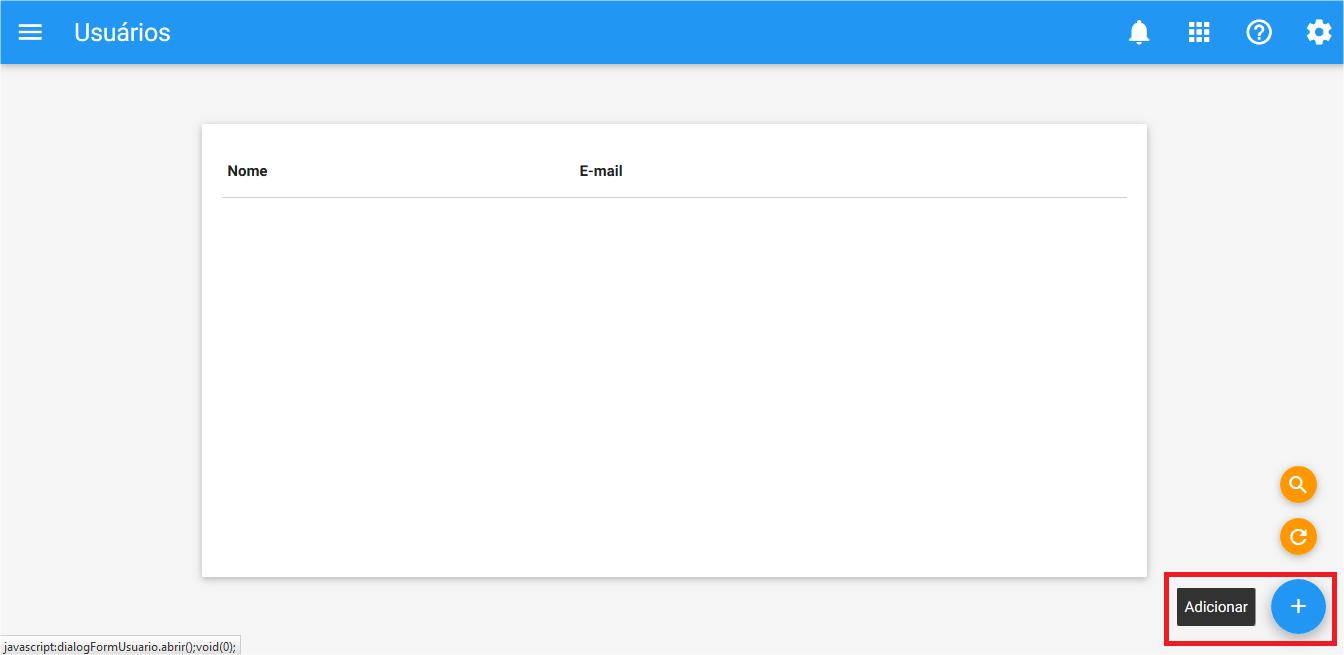 Config - Usuarios - Add