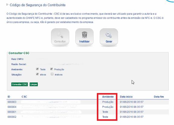 SEFAZ - RJ - CSC prd