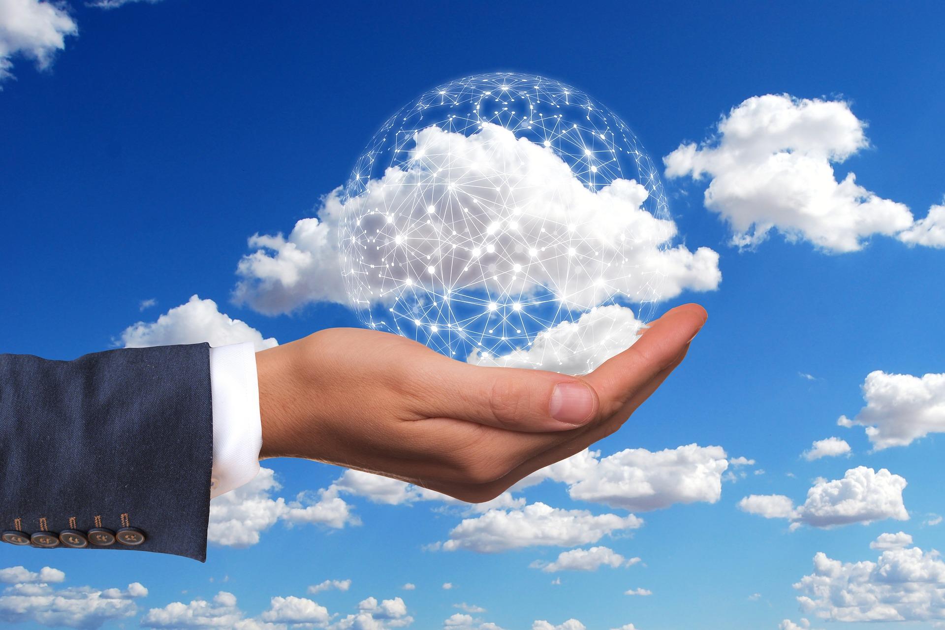 informações na nuvem