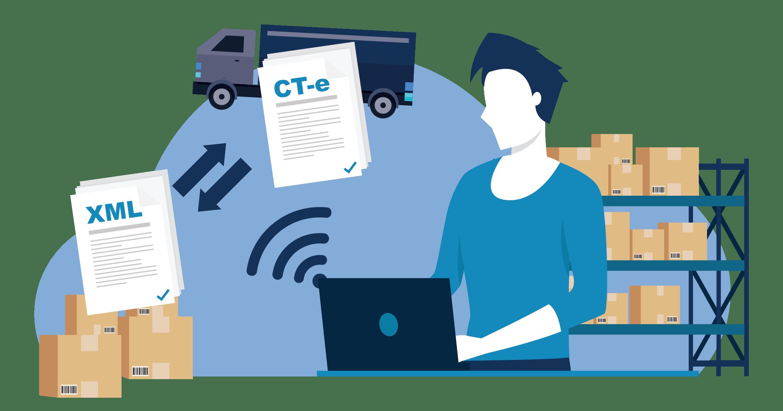 Emissão automática de CT-e